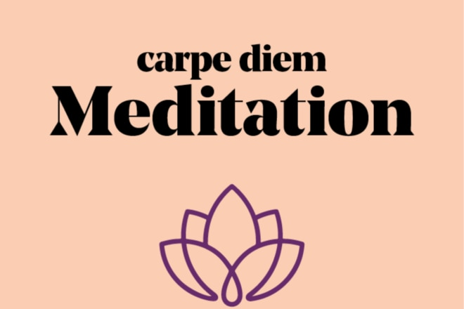 carpe diem Meditation – der Podcast Logo